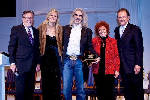 Randy Wills, Angie and Guy Penrod, Lou Hildreth, and Rudy Gatlin