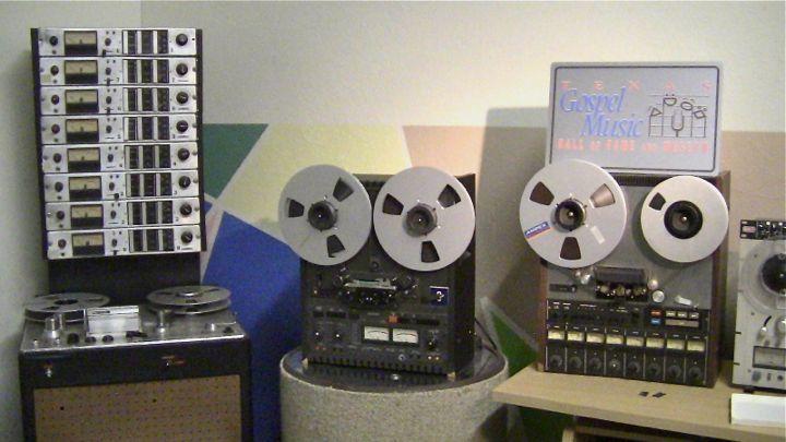 Historic Tape Machines